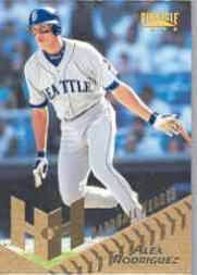 1996 Pinnacle #275 Alex Rodriguez HH
