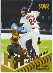 1996 Pinnacle #278 Manny Ramirez HH