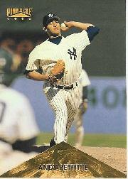 1996 Pinnacle #291 Andy Pettitte HH