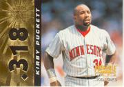 1996 Pinnacle #318 Kirby Puckett 300