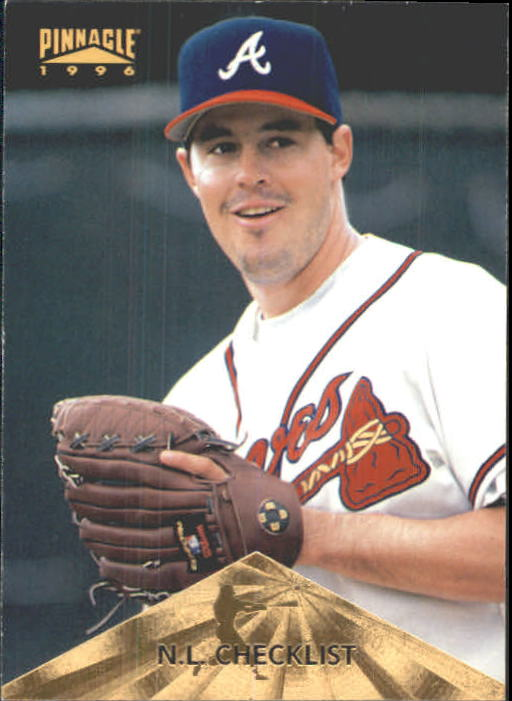 1996 Pinnacle #397 Greg Maddux CL