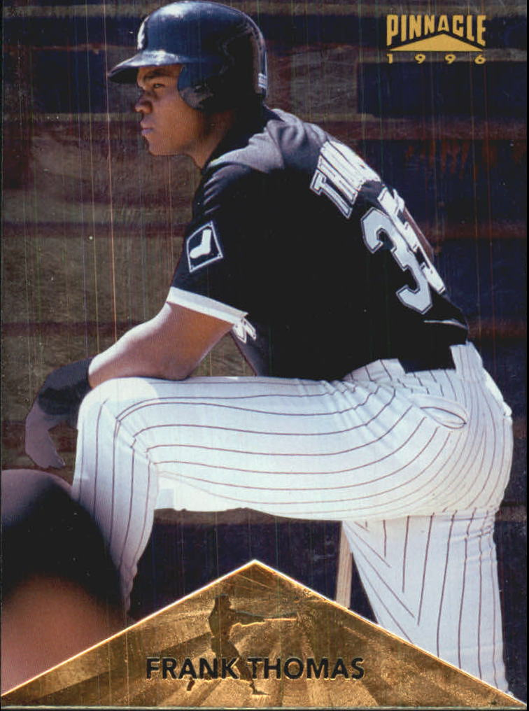 1996 Pinnacle Foil #201 Frank Thomas