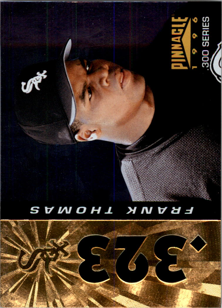 1996 Pinnacle Foil #323 Frank Thomas 300