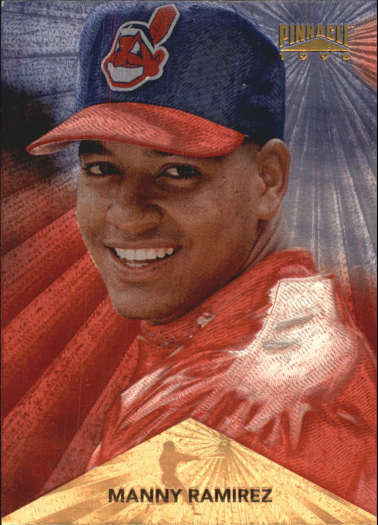1996 Pinnacle Starburst #18 Manny Ramirez