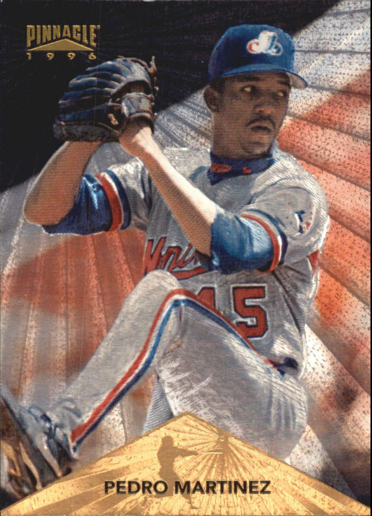1996 Pinnacle Starburst #29 Pedro Martinez