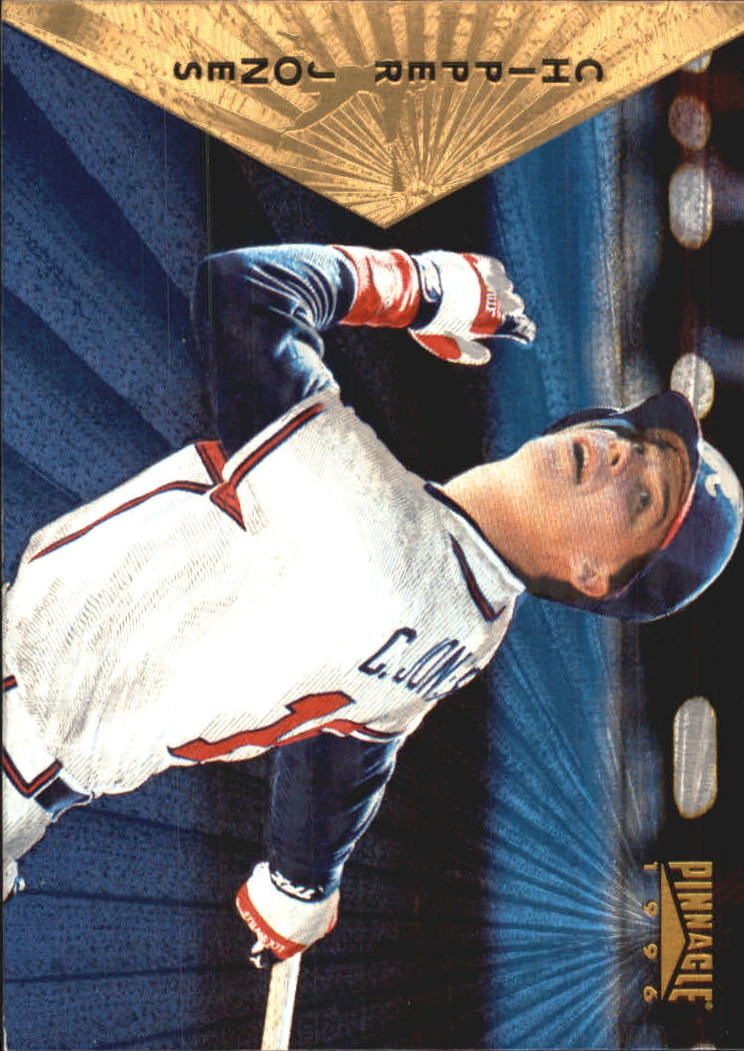 1996 Pinnacle Starburst #45 Chipper Jones