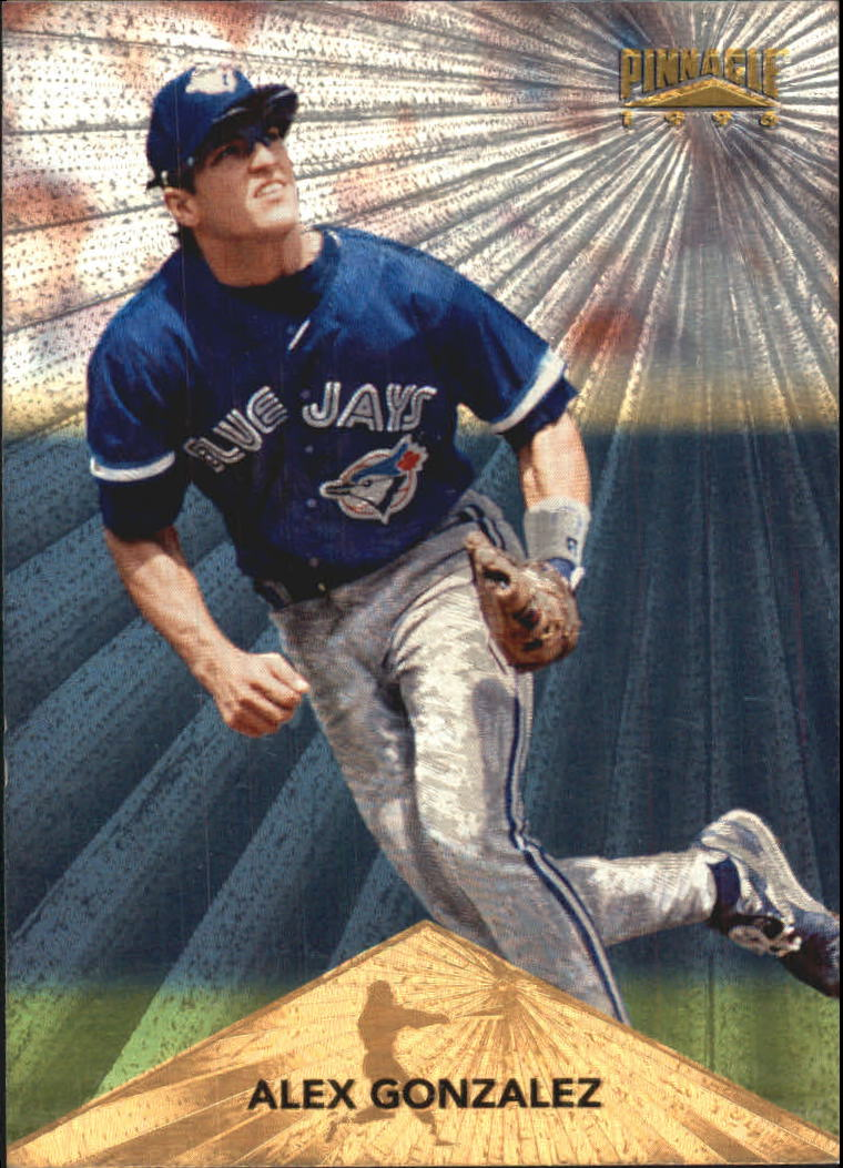 1996 Pinnacle Starburst #104 Alex Gonzalez
