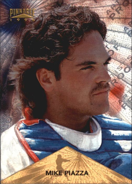 1996 Pinnacle Starburst Artist's Proofs #4 Mike Piazza