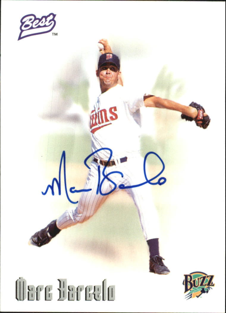 1996 Best Autographs #4 Marc Barcelo