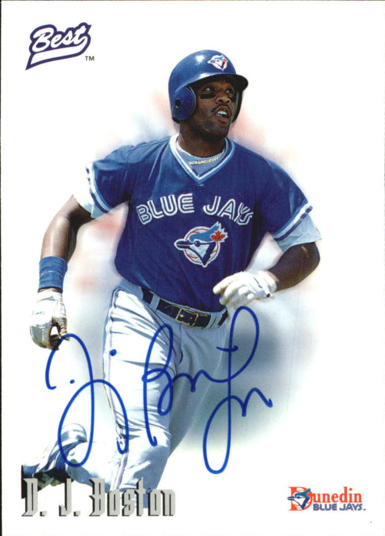 1996 Best Autographs #8 D.J. Boston