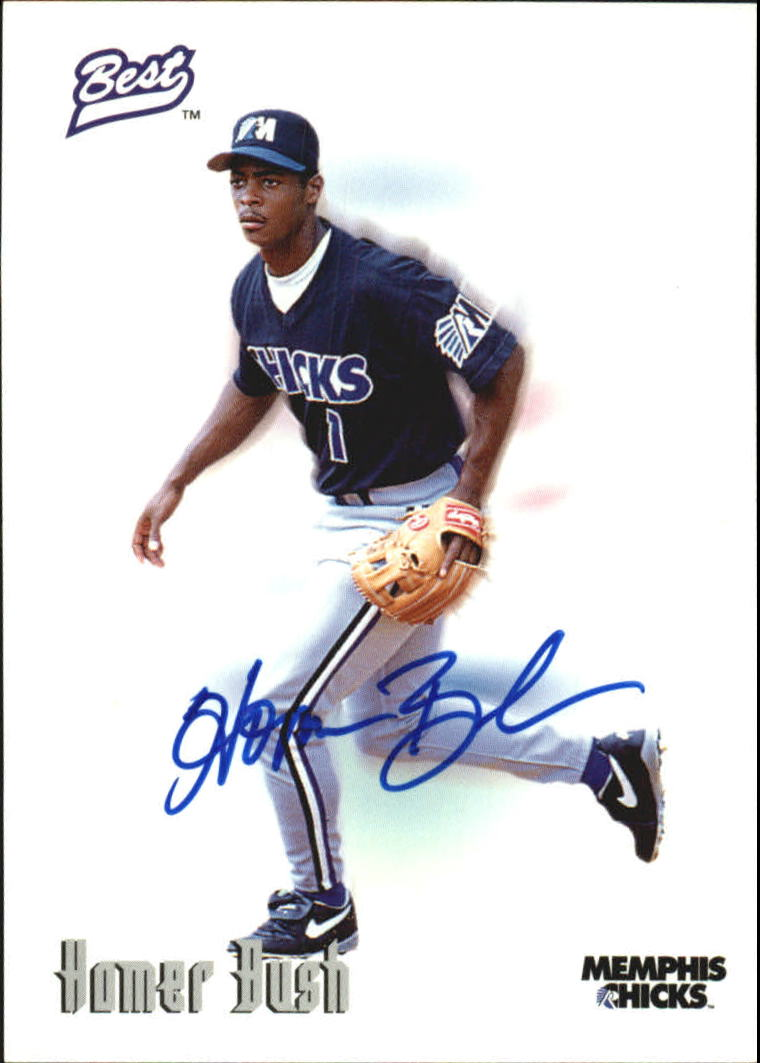 1996 Best Autographs #10 Homer Bush