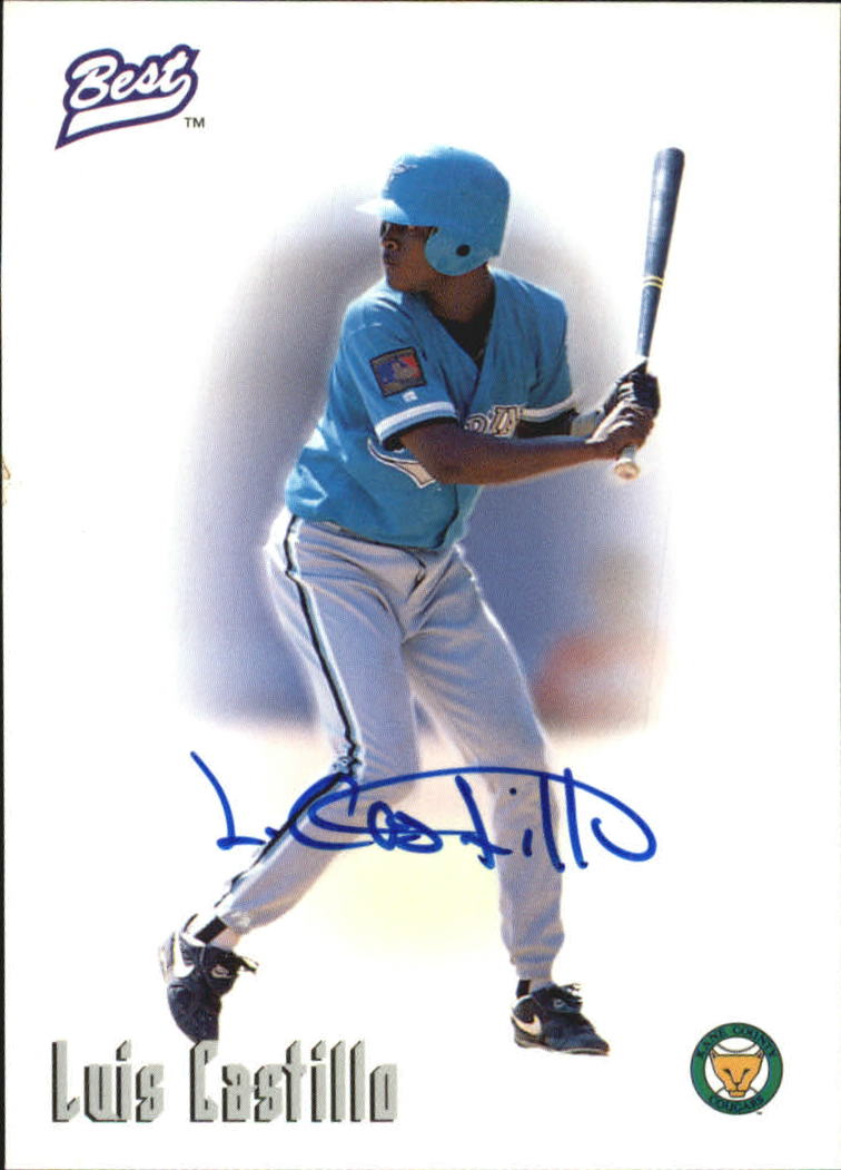 1996 Best Autographs #12 Luis Castillo
