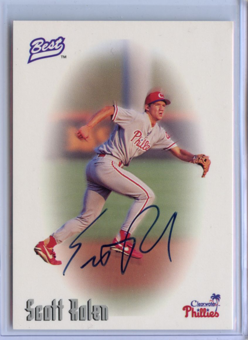 1996 Best Autographs #62 Scott Rolen