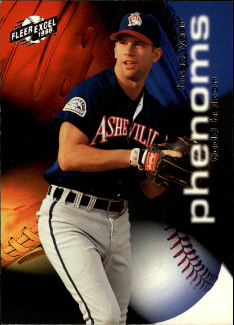 1996 Excel First Year Phenoms #5 Todd Helton
