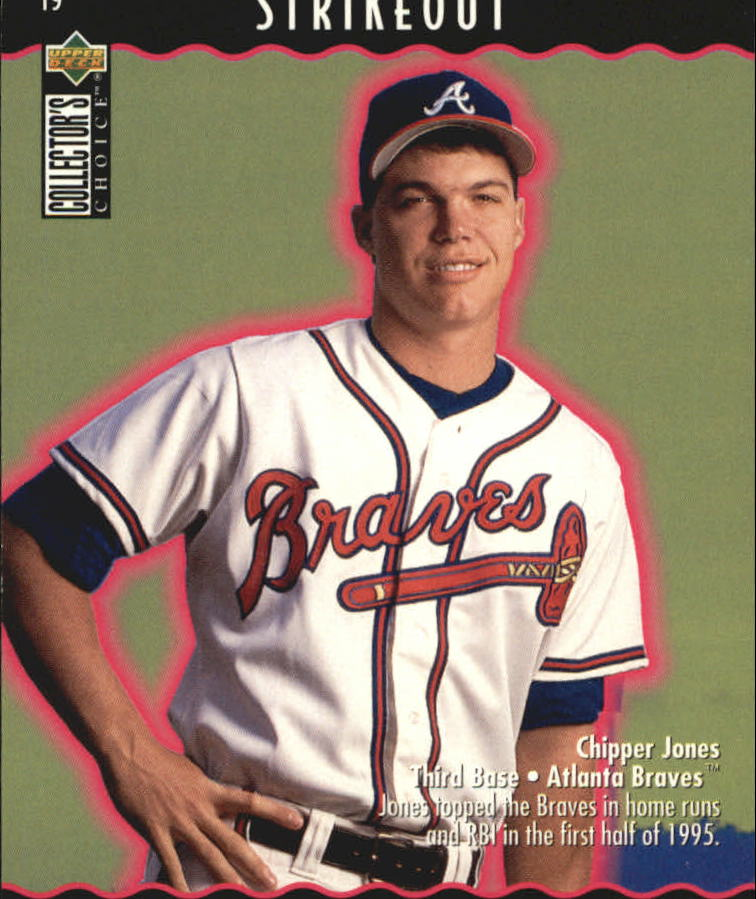 1996 Collector's Choice You Make the Play #19 Chipper Jones