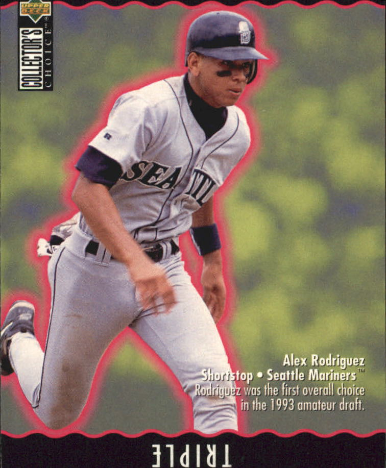 1996 Collector's Choice You Make the Play #34 Alex Rodriguez