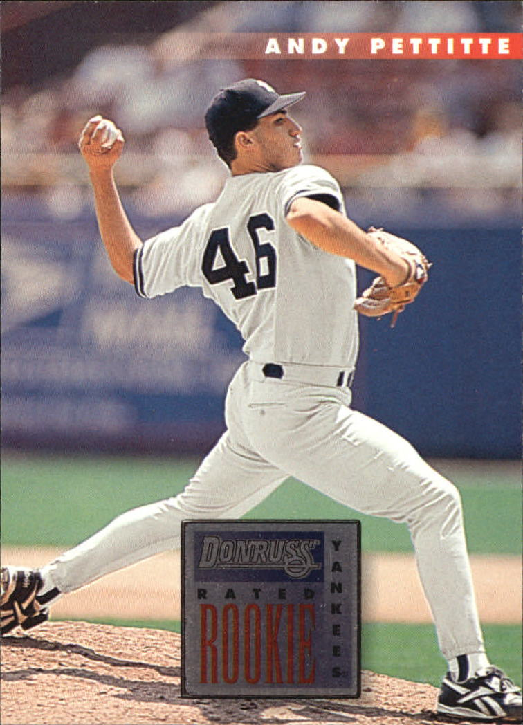 1996 Donruss #74 Andy Pettitte