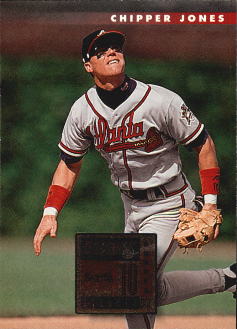 1996 Donruss #437 Chipper Jones