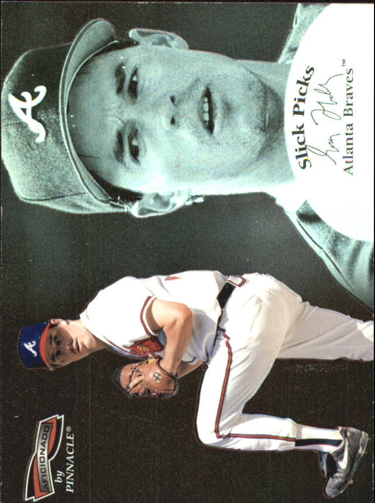 1996 Pinnacle Aficionado Slick Picks #14 Greg Maddux