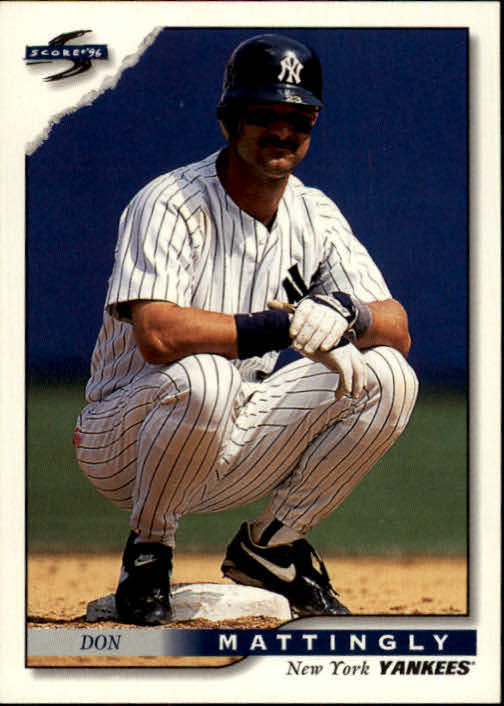 1996 Score #8 Don Mattingly