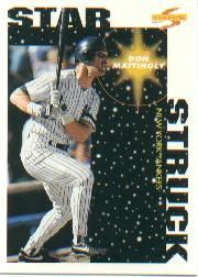 1996 Score #377 Don Mattingly SS