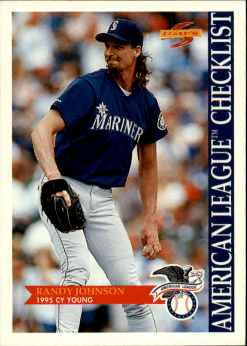 1996 Score #512 Randy Johnson CL