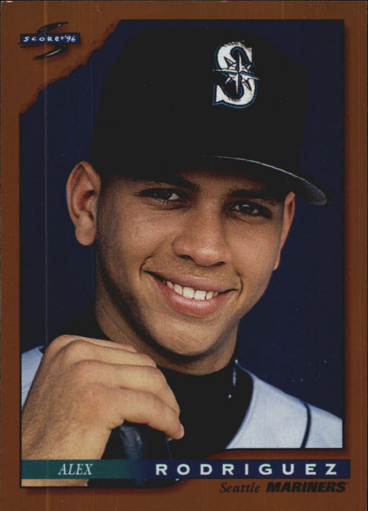 1996 Score Dugout Collection #A19 Alex Rodriguez