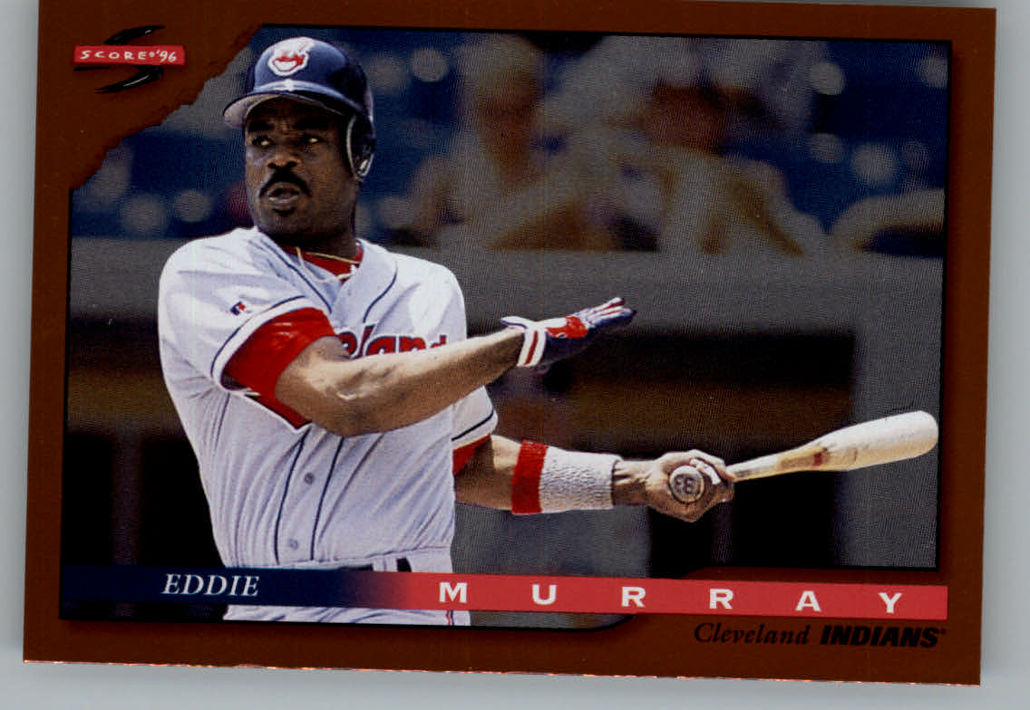 1996 Score Dugout Collection #A65 Eddie Murray