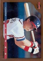 1996 Score Dugout Collection #B47 Chipper Jones