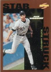1996 Score Dugout Collection #B86 Alex Rodriguez SS