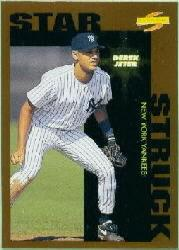 1996 Score Dugout Collection #B109 Derek Jeter SS