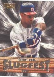 1996 Pinnacle Slugfest #10 Sammy Sosa