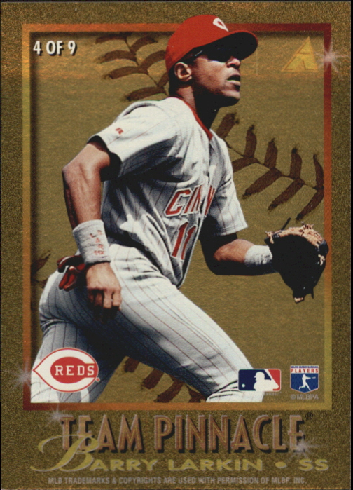 1996 Pinnacle Team Pinnacle #4 C.Ripken/B.Larkin