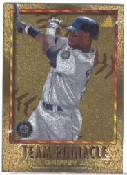 1996 Pinnacle Team Pinnacle #6 K.Griffey Jr./R.Sanders