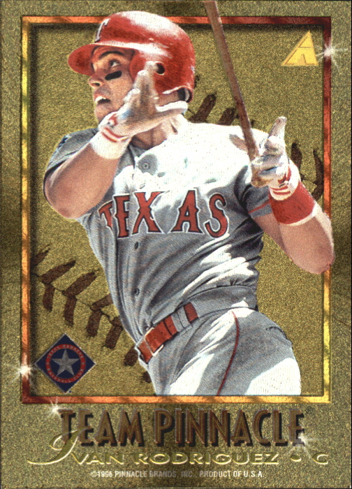 1996 Pinnacle Team Pinnacle #8 M.Piazza/I.Rodriguez