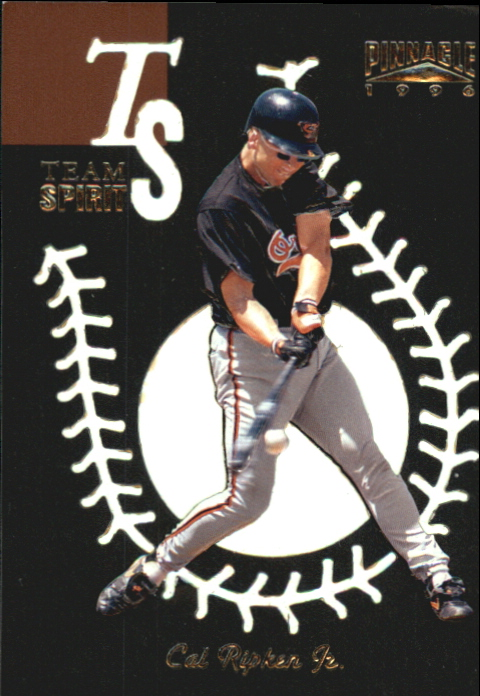 1996 Pinnacle Team Spirit #5 Cal Ripken