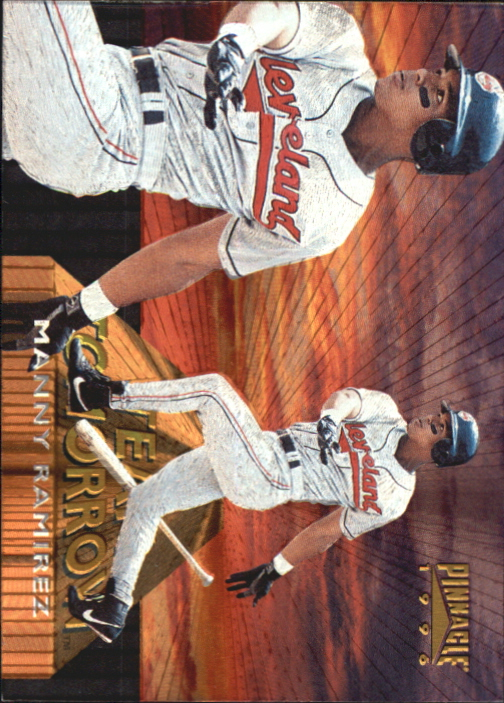 1996 Pinnacle Team Tomorrow #4 Manny Ramirez