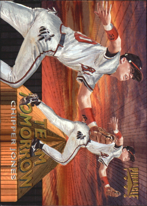 1996 Pinnacle Team Tomorrow #6 Chipper Jones