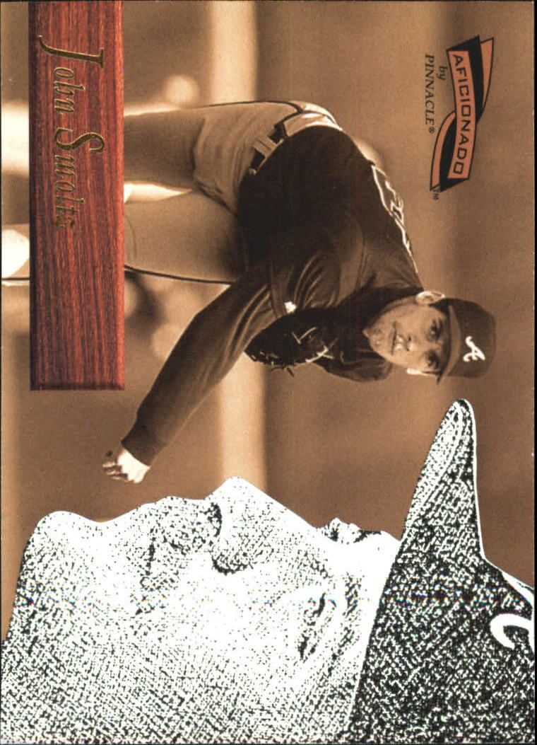 1996 Pinnacle Aficionado #79 John Smoltz