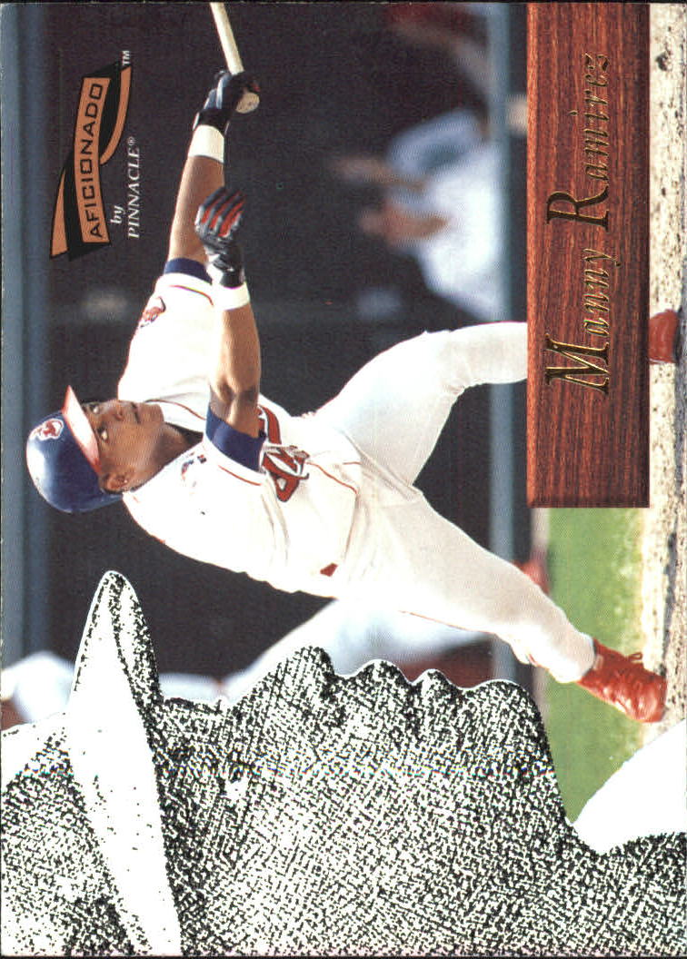 1996 Pinnacle Aficionado #109 Manny Ramirez