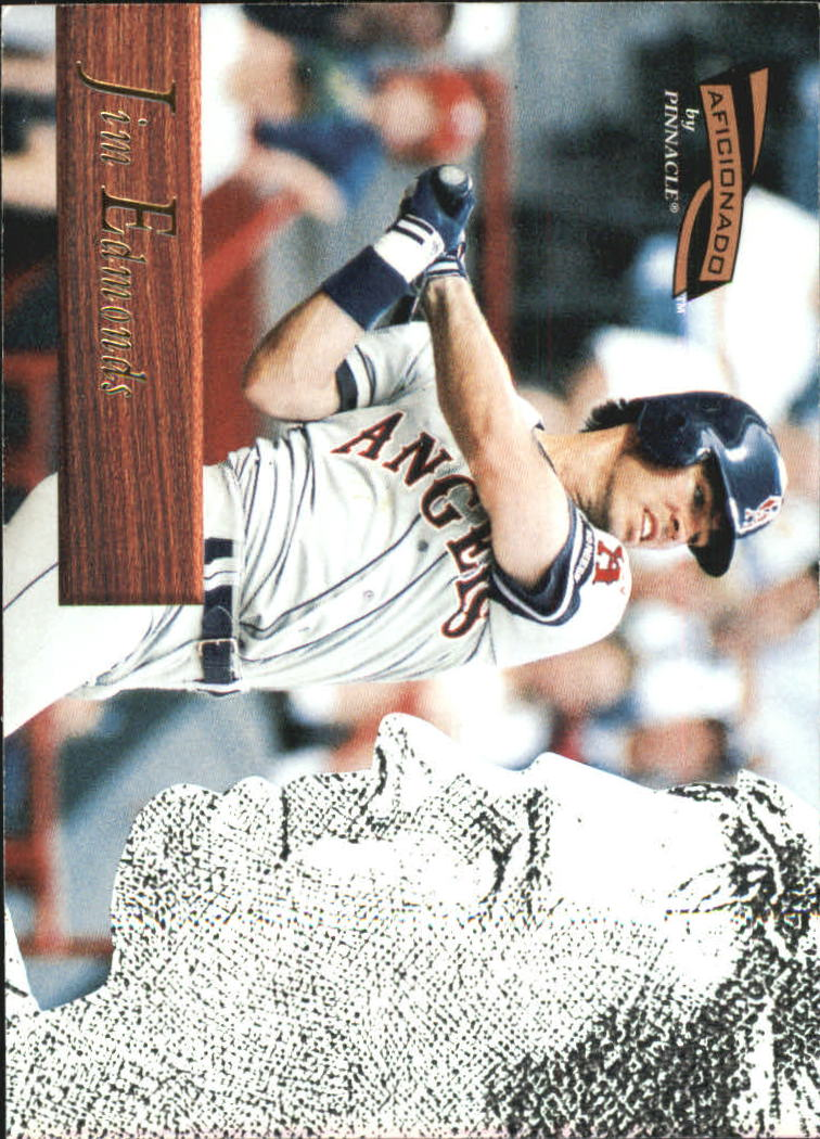 1996 Pinnacle Aficionado #123 Jim Edmonds