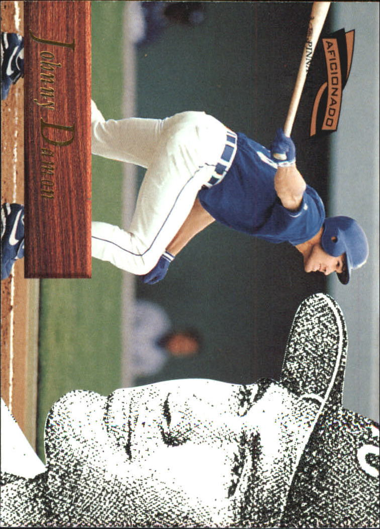 1996 Pinnacle Aficionado #128 Johnny Damon