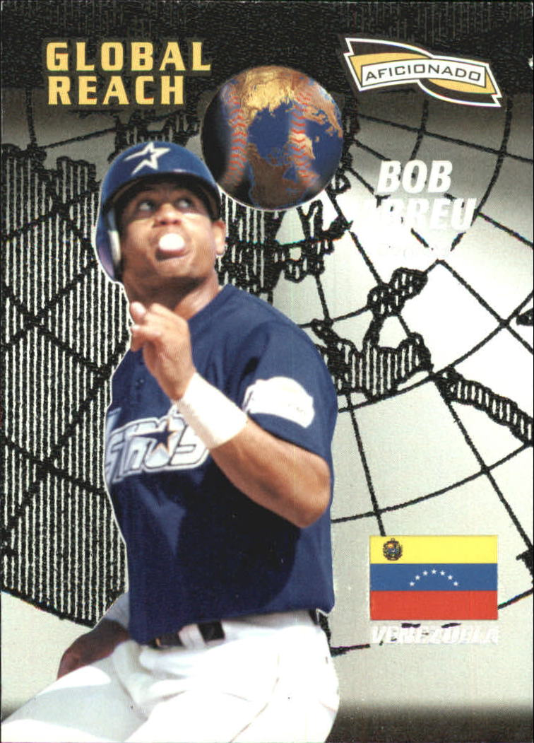1996 Pinnacle Aficionado #153 Bob Abreu GR