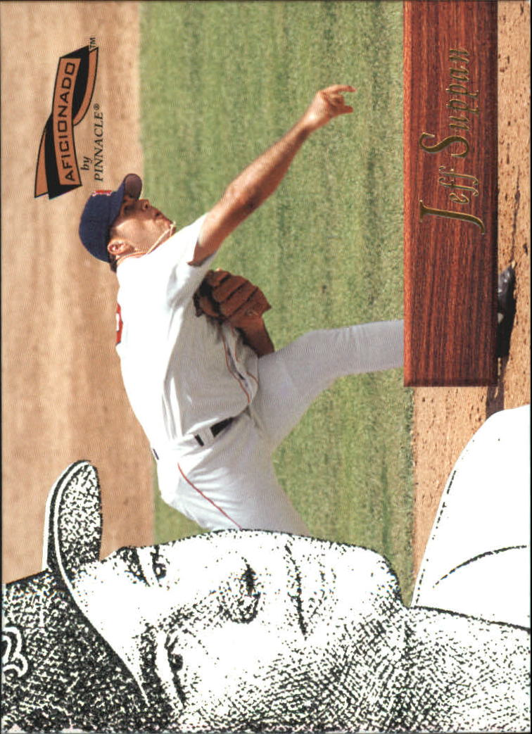 1996 Pinnacle Aficionado #194 Jeff Suppan