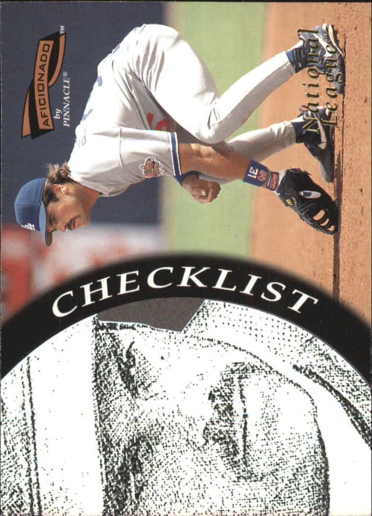 1996 Pinnacle Aficionado #198 Mike Piazza CL