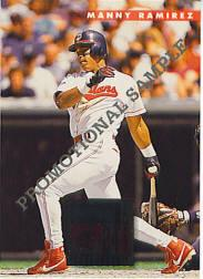 1996 Donruss Samples #6 Manny Ramirez