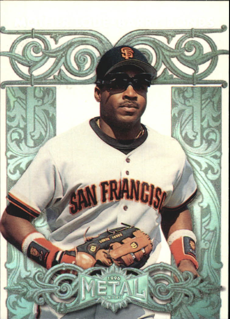 1996 Metal Universe Mother Lode #1 Barry Bonds