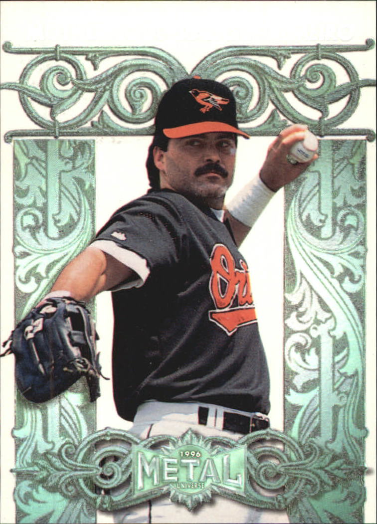 1996 Metal Universe Mother Lode #6 Rafael Palmeiro
