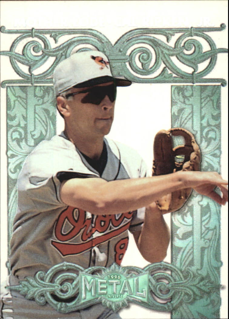 1996 Metal Universe Mother Lode #8 Cal Ripken