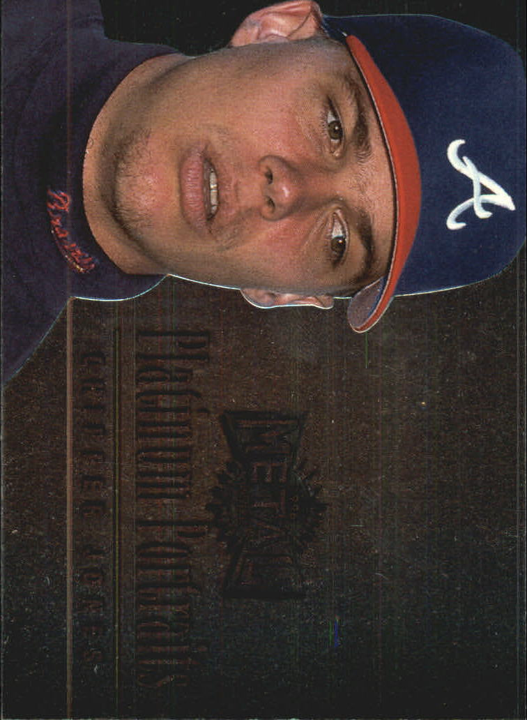 1996 Metal Universe Platinum Portraits #5 Chipper Jones
